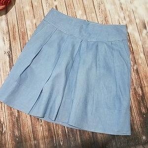 Banana Republic linen skirt with pockets!